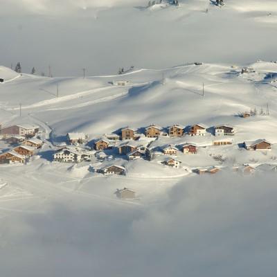 Schneesicherheit am Arlberg