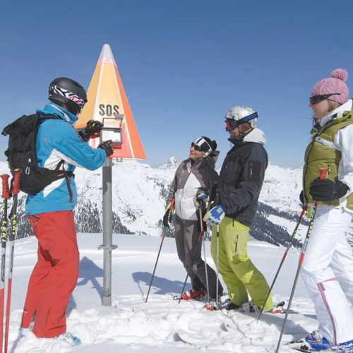 Skifahren in Lech am Arlberg