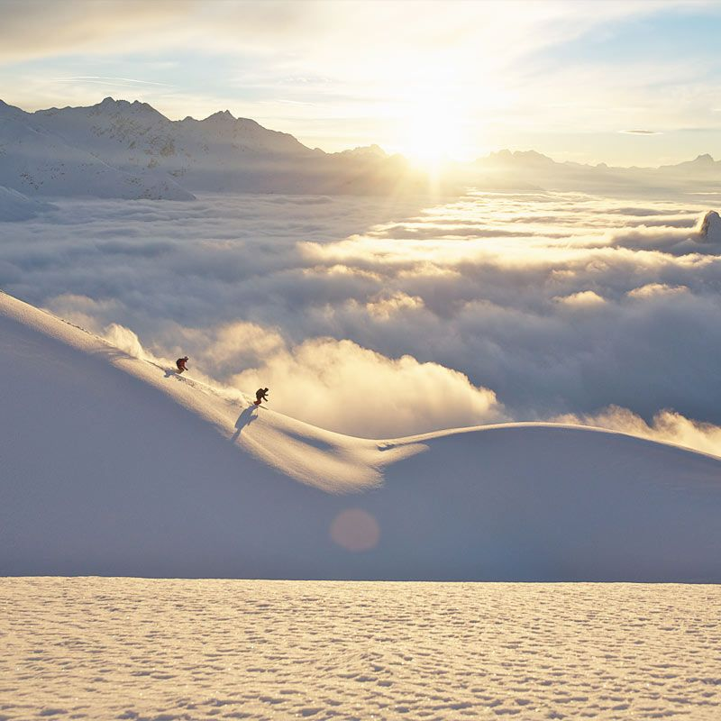 Skivergnügen Lech am Arlberg