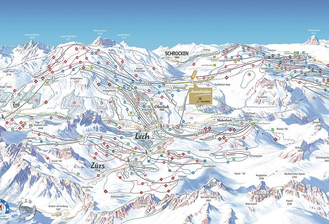Liftplan Ski Arlberg