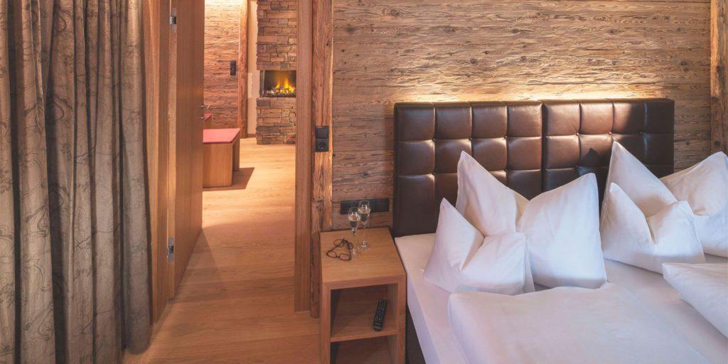 Innenansicht Zimmer in Lech Hotel Pfefferkorn