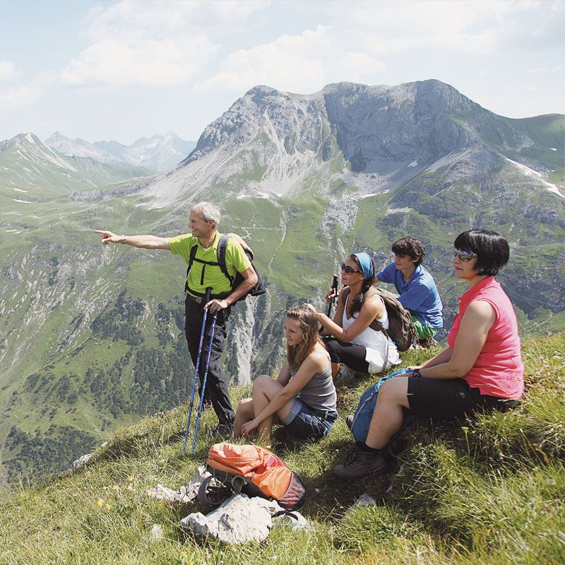 Wanderungen um Lech