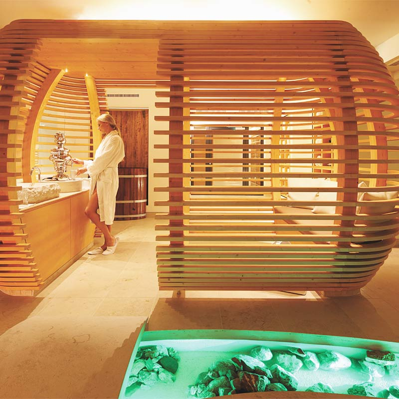"Wellness ""Aurum Spa"" im Hotel in Lech"