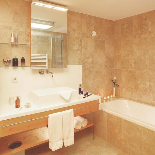 Stillvolles Badezimmer