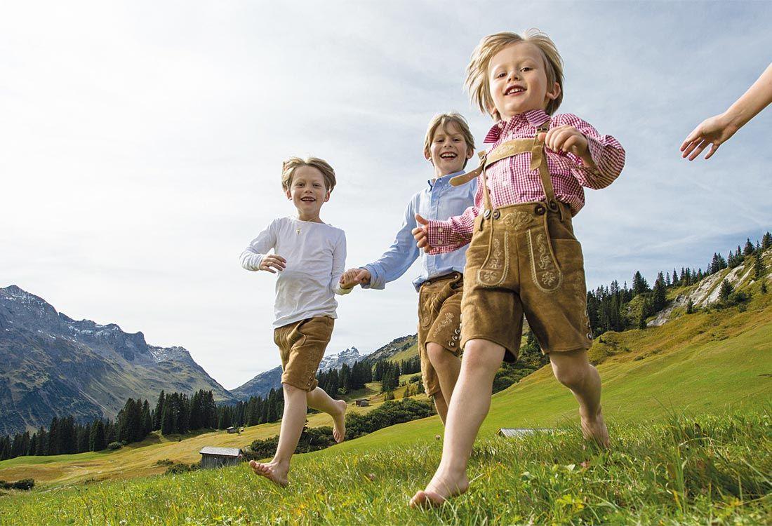 Kinderglück und Gesundheit in Lech