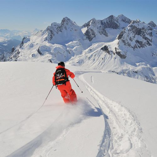 Winterwelt in Lech am Arlberg