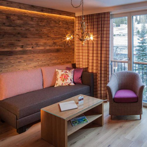 Stilvolle Suite in Lech