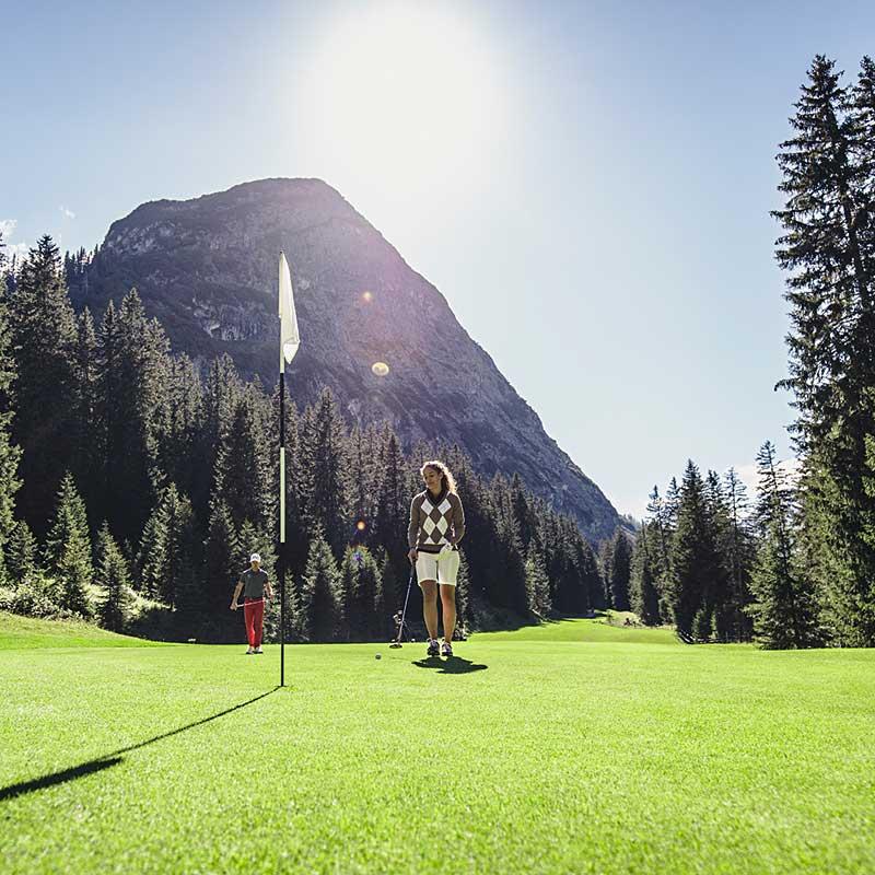 Golfen in Lech am Arlberg